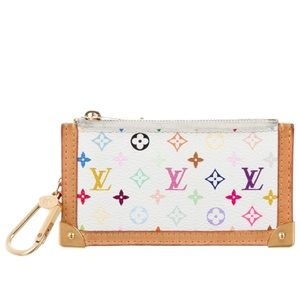 AUTHENTIC Louis Vuitton Multicolor Cles